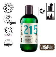 Naissance Mandelöl süß BIO - 250ml - 100 % rein kaltgepresst, vegan, hexanfrei