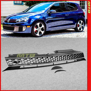 GTI Style Front Grille 2010-2014 Golf GTI Hatchback Mesh Honeycomb