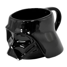 DARTH VADER HELMET 3D SHAPED MUG CERAMIC COFFEE TEA CUP STAR WARS FILM GIFT SITH
