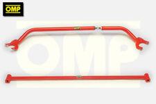 OMP FRONT & REAR STRUT BRACE HONDA CIVIC 1.6 16v CRX