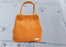 Leather Pattern DIY Designs Lady bag Paper Sweing Template Tools 9047