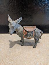 VINTAGE German Cast Metal Donkey / Mule Bank Circa 1930's?