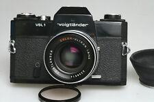 M42 VOIGTLÄNDER  COLOR ULTRON 1 : 1,8 / 50mm + VLS 1 TM + Lens Hood + Sky Filter