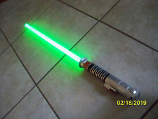 Star Wars Jedi Luke Skywalker Rotj Ultimate Fx Lightsaber used Works