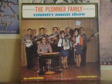 PLUMMER FAMILY, COUNTRY MUSIC SHOW - LP 1003 MEL-RAN KNOB LICK MISSOURI
