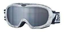 Dirty Dog Ski Goggles Snowboarding Scope Furry Grey Mirror UV Protection 54122
