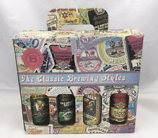 The Classic Brewing Styles 8 Bottle Beer Sampler Pack, Empty Bottles with Box