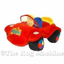 WIGGLES RED CAR SOFT & PLUSH FUN PLAY TOY 28cm **NEW**