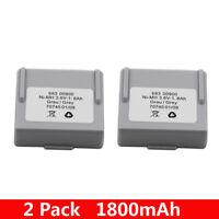2PCS 3.6V 1800mAh 1.8Ah Battery 68300900 for HETRONIC Remote Control NEW