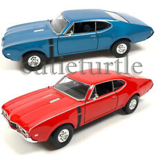 Welly 1968 Oldsmobile 442 1:24 - 1:27 Diecast Model Display Toy Car 24024