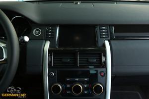 Hochglänzend Schwarz Rahmen Mittelkonsole Lüftung Lüftdüsen für Land Rover Di...