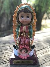 1pc Lady Of Guadalupe Statue Virgin Mary Virgen Maria De Guadalupe Catholic 2""