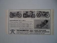 advertising Pubblicità 1969 MOTO TECNOMOTO SQUALO/MIO/SPORT SPECIAL 50 60