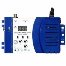 Digital Modulator HDMI AV To RF Converter VHF UHF PAL NTSC Standard Portable EU