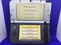 Nintendo New 3DS XL Handheld Console Video Game System - Retro NES Decal Design
