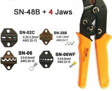 Crimping Tools Terminal Plier Muti-Functional Handheld Ratchet Stable Equipments