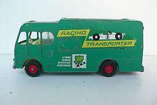 MATCHBOX KING SIZE RACING CAR TRANSPORTER LE MANS SEBRING SILVERSTON ÉTAT DE JEU