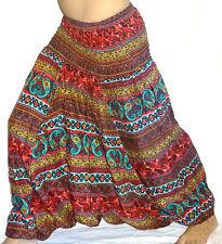 Sarouel Femme Pantalon Ethnique Aladin Harem Pant Aladdin Hippie baggy bouffant