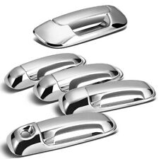 For 2002-2008 Dodge Ram 1500 2500 3500 Chrome 4 Door Handle + Tailgate Covers