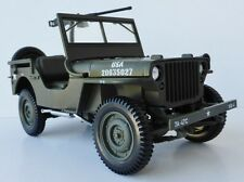 Willys Jeep military vehicle US Army 1942 1/18 NOREV 189011 USA TP 35 Willis