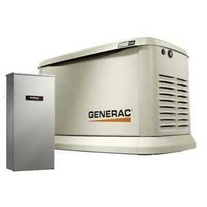 Generac 7043 Standby Generator 22KW Guardian WiFi+200a Auto Transfer Switch