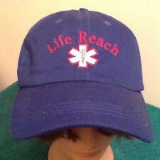 Baseball Cap, Hat  LIFE REACH, First Responder, EMT Paramedic, Trucker