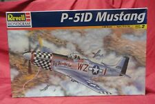 P-51D Mustang Fighter Aircraft Model Airplane Kit by Revell #85-5241 1:48