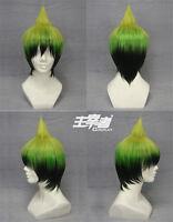 Ao no Exorcist Amaimon Prince Bob Short Cosplay Anime costume Wig +Free CAP