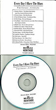 Every Day Blues ADVN PROMO CD ERIC CLAPTON John Lee Hooker JEFF HEALEY Buddy Guy