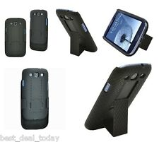 Verizon*OEM Shell Holster Combo Case For Samsung Galaxy S3 S 3 III SCH