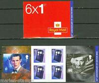 GREAT BRITAIN  2013 50th ANNIVERSARY OF DOCTOR WHO SELF ADHESIVE BOOKLET CPL NH