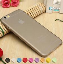 Housse iPhone 6 Apple Ultra Thin Slim0.3m Coque Etui Case Gold Argent Gris
