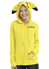 POKEMON PIKACHU COSPLAY HOODIE BIOWORLD LICENSED AUTHENTIC XL X-Large NWT