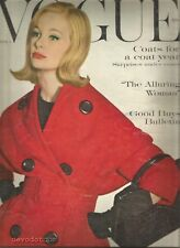 Vogue October 1959 Elliot Erwitt - Binkie Beaumont - Norman K. Winstoon