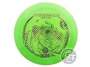 USED DGA Proline Hypercane 174g Lime Checker Foil Distance Driver Golf Disc