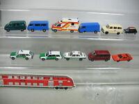 AB137-0,5# 11x Herpa H0 Modelle f. Bastler: Mercedes MB, Volkswagen VW, BMW etc