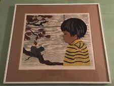 Poetry Of Autumn Rosalind Smith Signed Limited Edition Print Wood Block 133/260