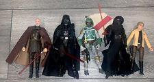 Star Wars Black series lot Of 5 Boba Vader Kylo Luke Dooku