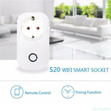 Smart WiFi Remote Control Timer Switch Power Socket EU Plug For Cellphone GB1