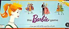Vintage 100% All Parts Barbie Board Game 1994 Mattel Replica of 1961 Barbie game