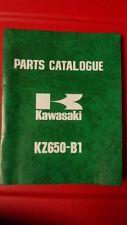 Kawasaki Factory Dealer Parts List Catalogue 1977 KZ650 99997-680