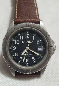 Vintage Hamilton 9717  L.L.Bean Serviced Field Watch Rotating Bezel