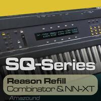 ENSONIQ ESQ1 REASON REFILL 221 NNXT & COMB 1608 SAMPLES 24bit MAC PC DOWNLOAD