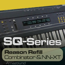ENSONIQ ESQ1 REASON REFILL 221 NNXT & COMB 1608 SAMPLES 24bit MAC PC TRAP RAP