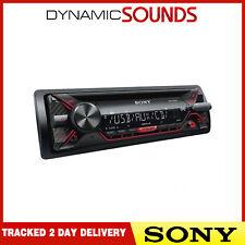 Sony CDX-G1200U USB AUX entrada MP3 Reproductor Estéreo para Auto Desmontable-Restaurada