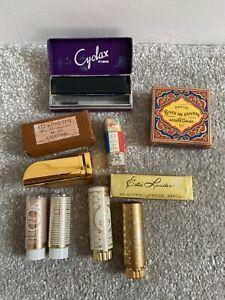 Vintage Estee Lauder Lancome Elizabeth Ardon Dior Cosmetics Collectables