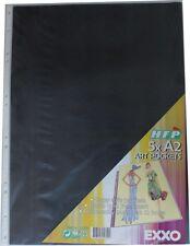 Ersatzhüllen / Nachfüllhüllen A2 5 Hüllen für nachfüllbares Sichtbuch A2 farblos