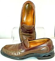 Cole Haan Air Penny Loafer Men Size 10 M Brown Leather Slip On Dress Shoe c05928