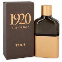 Tous 1920 The Origin by Tous Eau De Parfum Spray 3.4 oz for Men