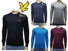 LYLE AND SCOTT CREW-NECK LONG SLEEVE JUMPER FOR MEN'S  *Next Day Delivery*